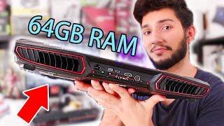 64GB Ram'li Gerçek Bir Canavar Oyuncu Laptopu  GT73VR 7RF TITAN PRO