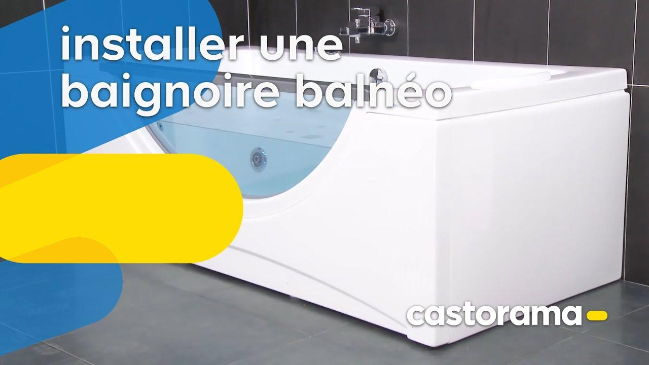 installer une baignoire balneo castorama