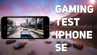 GAMING TEST IPHONE SE/ТЕСТ ИГР IPHONE SE