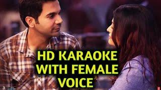 Halka Halka Suroor Hai (Fanney Khan) HD KARAOKE WITH FEMALE VOICE BY AAKASH