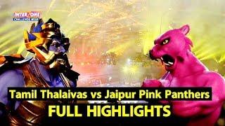 Full Highlights: Tamil Thalaivas vs Jaipur Pink Panthers  Sports Tak