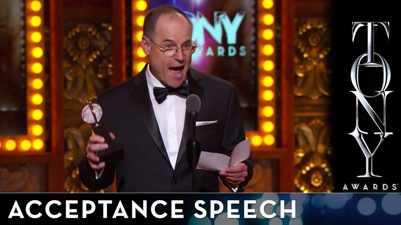 Scenic speech