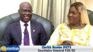 Sortie avec Cheikh Bamba DIEYE  (Secrétaire Général FSD/BJ)