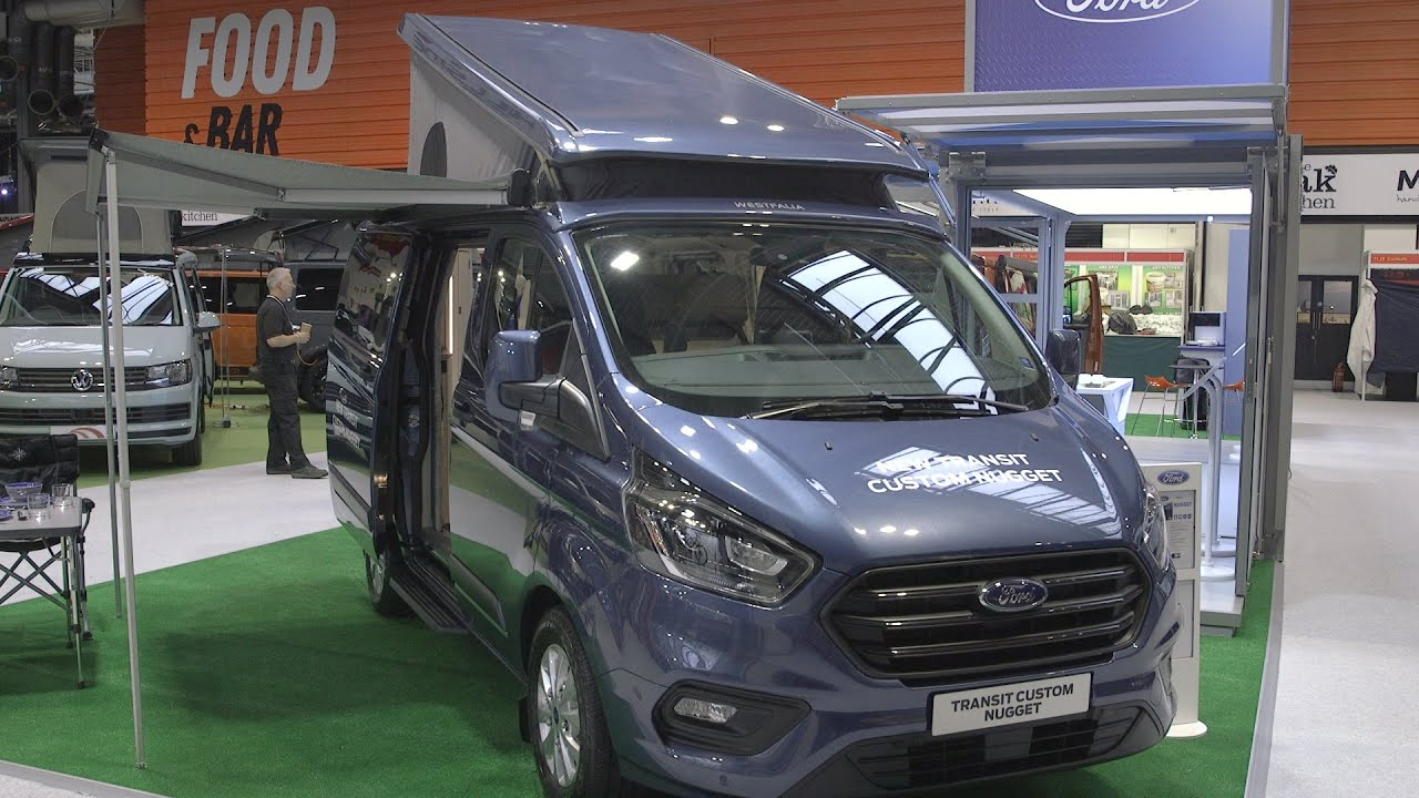 2020 Ford Nugget Campervan Review Camping Caravanning Youtube