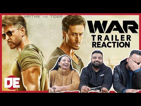War Official Trailer #2 Reaction | Hrithik Roshan | Tiger Shroff | Vaani Kapoor |