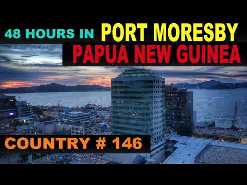 A Tourist's Guide to Port Moresby, Papua New Guinea