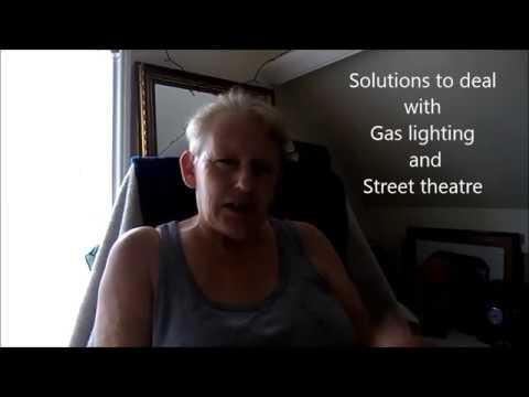 Counteracting gang stalking Gas lighting Street theatre  sc 1 st  YouTube & Counteracting gang stalking Gas lighting Street theatre - YouTube