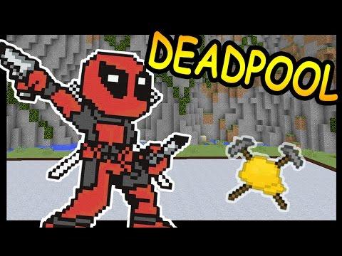 ДЭДПУЛ (DEADPOOL) и ЛЕСОРУБ в майнкрафт !!! - БИТВА СТРОИТЕЛЕЙ #57 - Minecraft