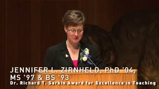 Jennifer Zirnheld - University at Buffalo - Alumni Association Achievement Awards 2013