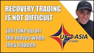 RECOVERING A LOSS - How to trade forex 18 June 2018