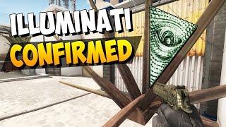 cs go weirdest glitch i ve ever seen d illuminati confirmed