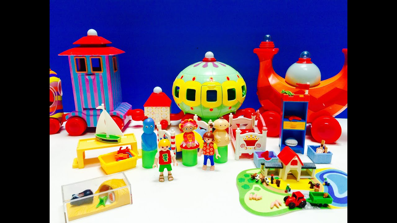 NINKY NONK In The Night Garden Toys Visit Playmobil Friends!