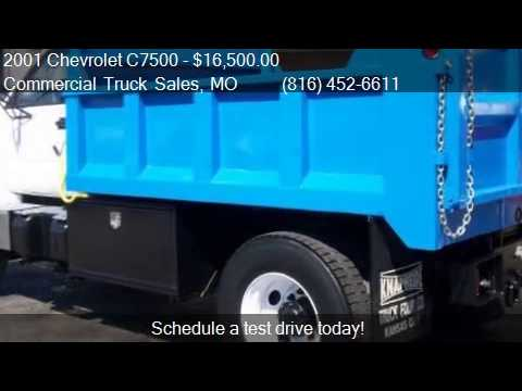 COMMERCIAL TRUCK SALES FOR SALE 2001 Chevrolet C7500 Dump Truck for sale in  Kansas City, MO