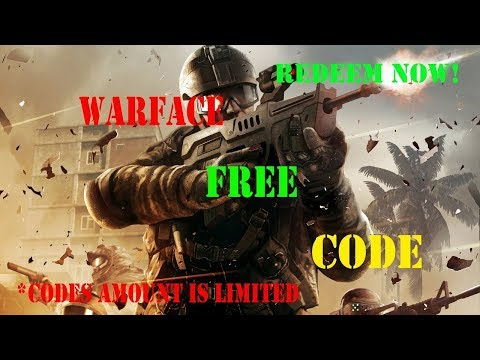 WARFACE - FREE CODE FOR A LOT OF ITEMS - VIP / SMOKES / WEAPONS - FOLLOW THE STEPS!