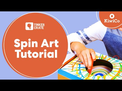 Build a Spin Art Machine - Tinker Crate Project Instructions