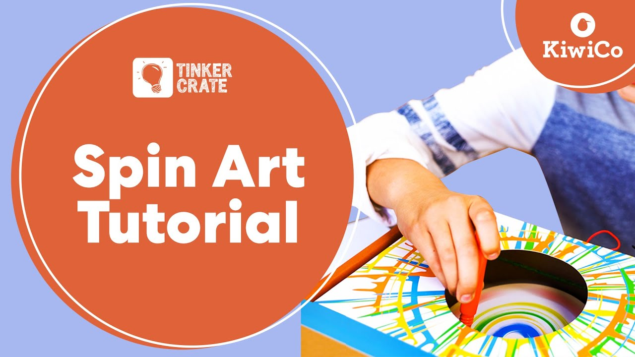 Build A Spin Art Machine Tinker Crate Project Instructions