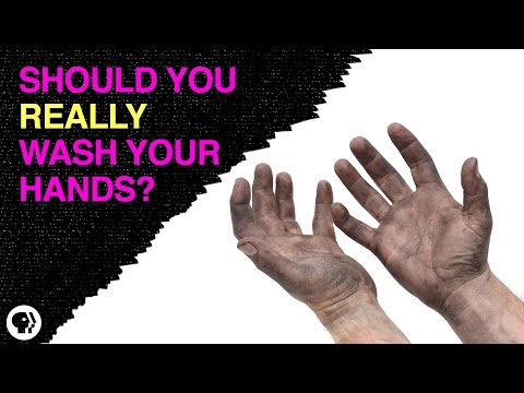 Should You Really Wash Your Hands?