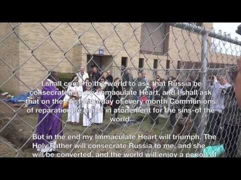 Ground Breaking: Shrine of the Immaculate Heart of Mary ~ Grupo da Imaculada