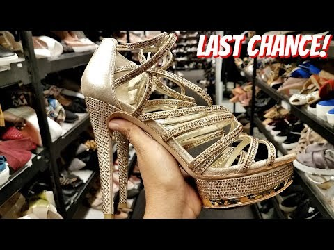 COME WITH ME LAST CHANCE PHOENIX AZ WALK THROUGH SHOES! 2018