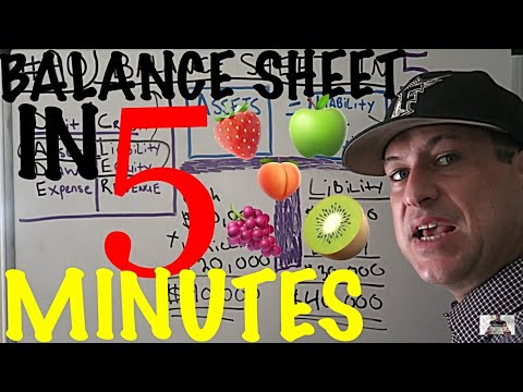 accounting-for-beginners-#90-/-balance-sheet-in-five-minutes-/-accounting-101-tutorial-/-fast-&-easy