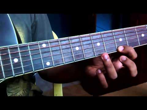 MALARE Song Guitar Lesson From Movie Premam