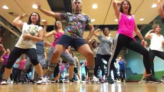 Download Video Zumba Fitness vente pa' ca Ricky Martin Ft. Delta Goodrem choreography by Zumba Papi Uk MP3 3GP MP4