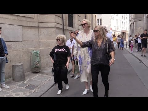 EXCLUSIVE : Kate Moss, Kelly Osbourne, Gwendoline Christie going to Picasso museum in Paris