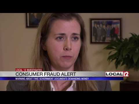 Fraud Alert: Scammers using fake government documents to demand money