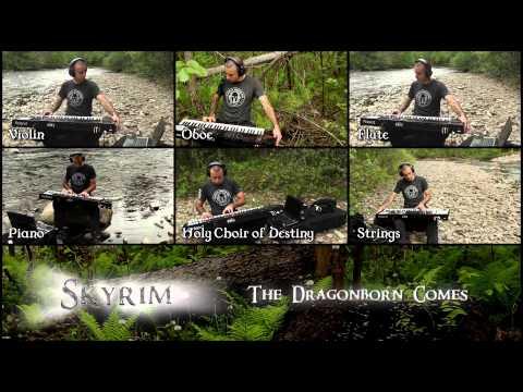 ✔ - SKYRIM - THE DRAGONBORN COMES (Cover)
