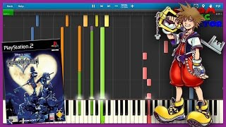 Dearly Beloved - Kingdom Hearts - Piano Tutorial [Synthesia♫]