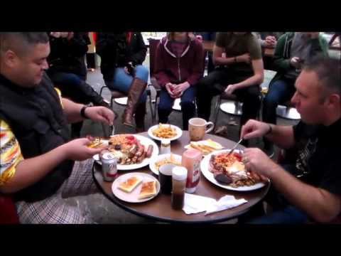Barry vs Heavy D Big Breakfast Challenge Storage Hunters UK