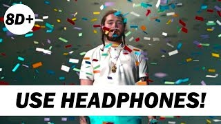 Post Malone - Congratulations (8D AUDIO) ft. Quavo