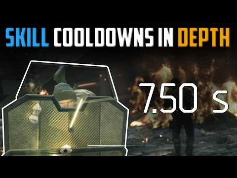 The Division | Skill Cooldown Reduction In Depth