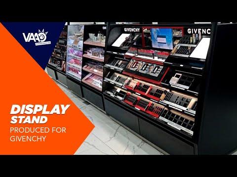 Cosmetics Display fabrication