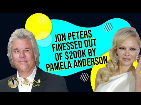 Simp Chronicles~Pamela Anderson Left & Finessed $200K Out Of Husband Jon Peters Of Only 12 Days