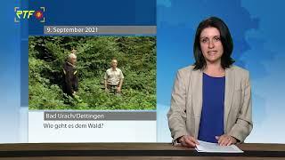 Revierförster von Bad Urach und Kreisforstamt Reutlingen zum Zustand des Waldes