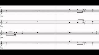 Come Where My Love Lies Dreaming Violin Quartet Play Along ( Violin 1 Violin 2 Violin 3 )