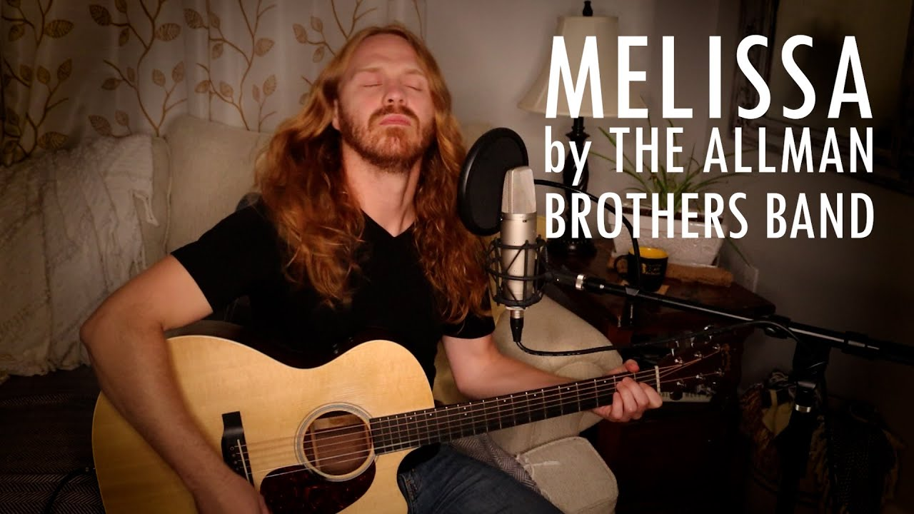 """""""Melissa"""" by The Allman Brothers Band - Adam Pearce (Acoustic Cover)"""