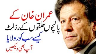 How Many Seats imran Khan Win Election 2018 Results