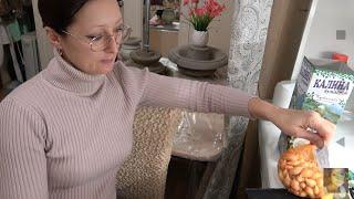 Домашнее видео.Шопинг с мамой. Лук-севок незнакомый сорт. Калина Бульденеж. Электрический шуруповёрт