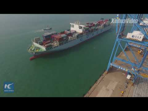 A new world record! Automated port terminal in east China boasts highest efficiency