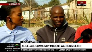 Watson's contribution to Alicedale community
