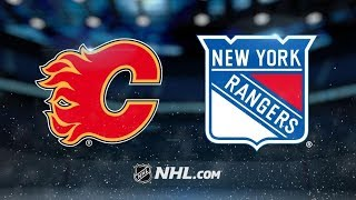 Calgary Flames vs New York Rangers - Oct.21, 2018 | Game Highlights | NHL 2018/19 | Обзор Матча