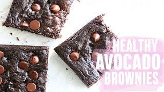 Healthy Avocado Brownies (paleo + gluten free)