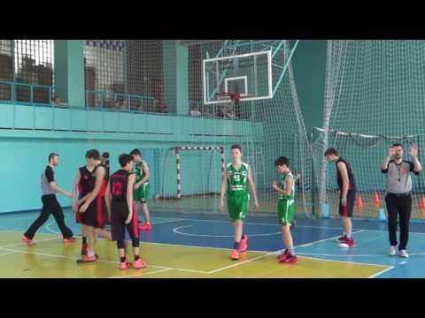 (ДЮСШ №3 г. Новокузнецк Vs «ЦИВС» г. Новосибирск)/Межрегиональный турнир по баскетболу