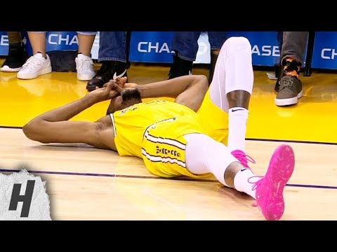 Kevin Durant Ankle Injury - Suns vs Warriors   March 10, 2019   2018-19 NBA Season