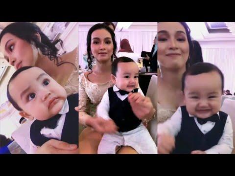 Comel! Arif Jiwa cucu Datuk Siti Nurhaliza menari dengan Tya Arifin di Majlis Resepsi Izara Aishah