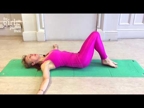 Pilates for Lower Back Pain Relief -10 Minutes, No Equipment Needed