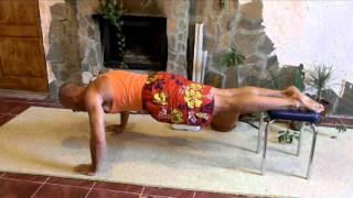 как накачать плечи дома и турник 6 упражнений Тамир