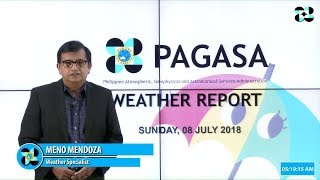 Public Weather Forecast Issued at 4:00 AM July 8, 2018